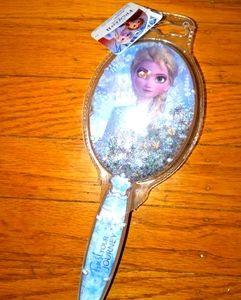 NWT Elsa Frozen 2 snow globe hair brush Disney